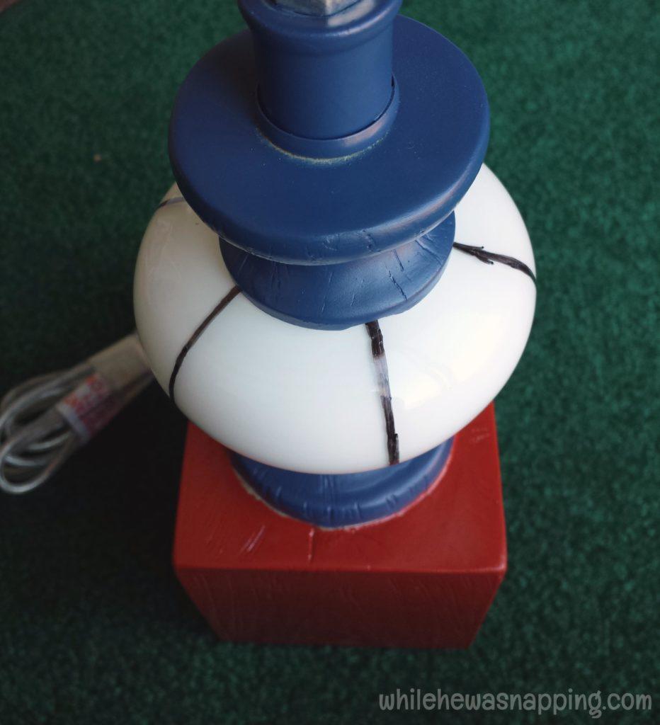 GE Align PM Light Bulb Spider-Man Glass Bulb Spokes