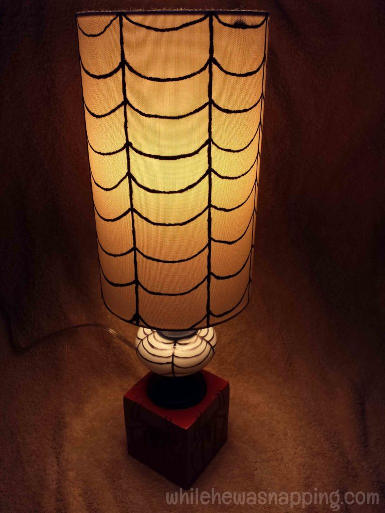 GE Align PM Light Bulb Spider-Man Lamp Light Color
