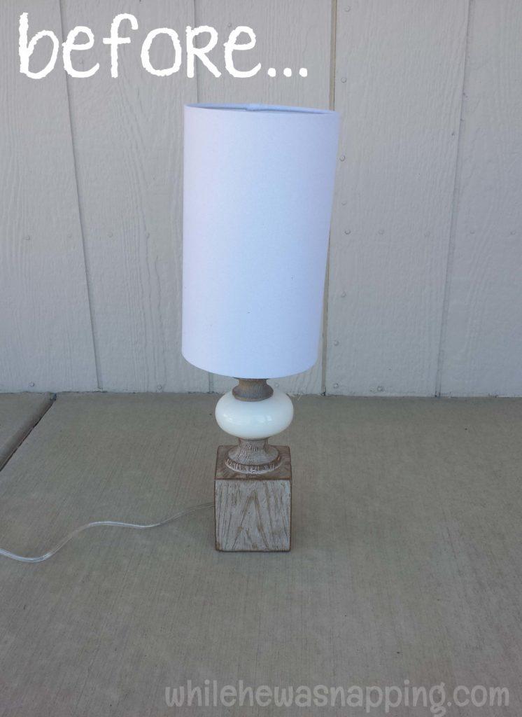 GE Align PM Light Bulb Spider-Man Lamp before
