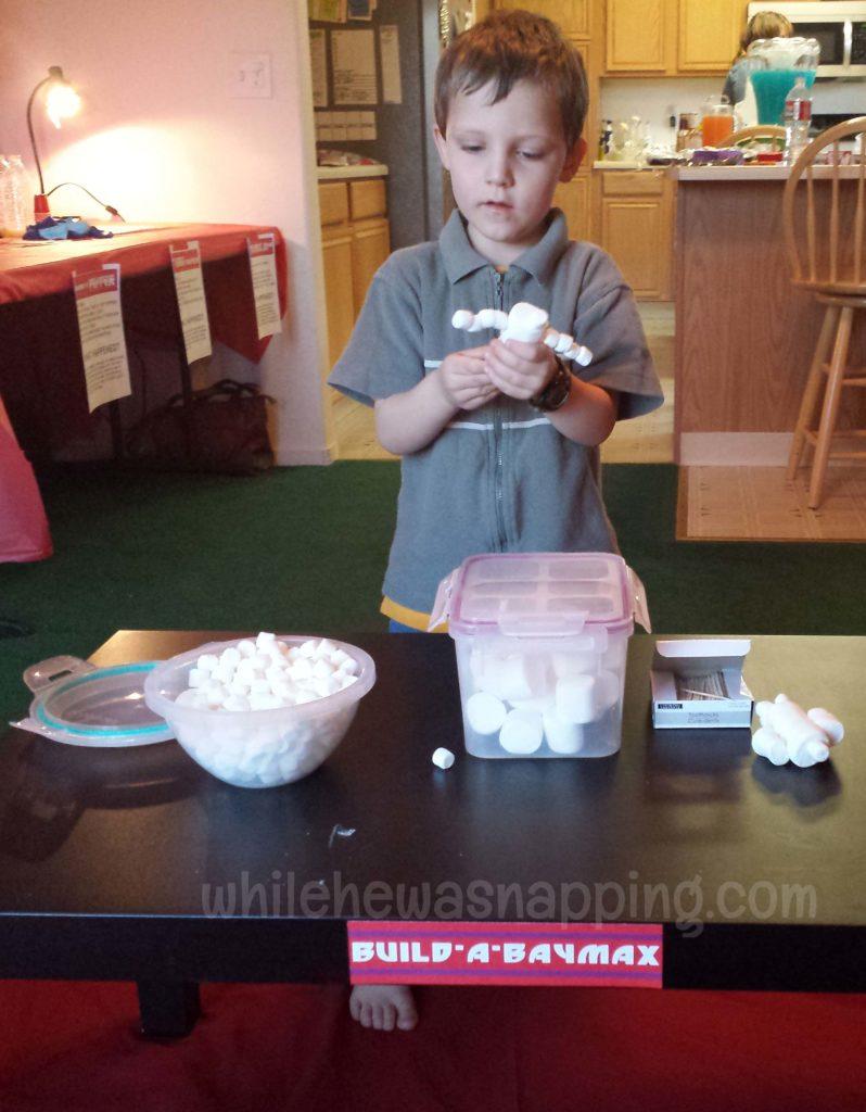 Marshmallow Baymax