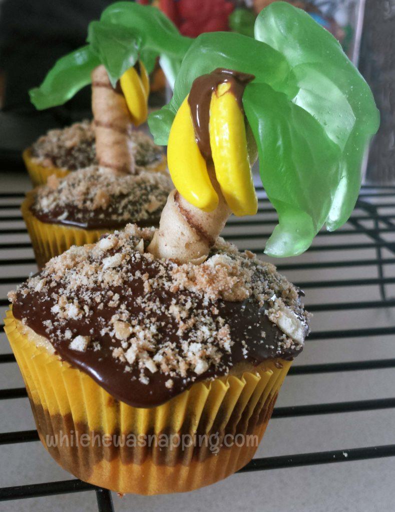 Palm Tree Cupcake