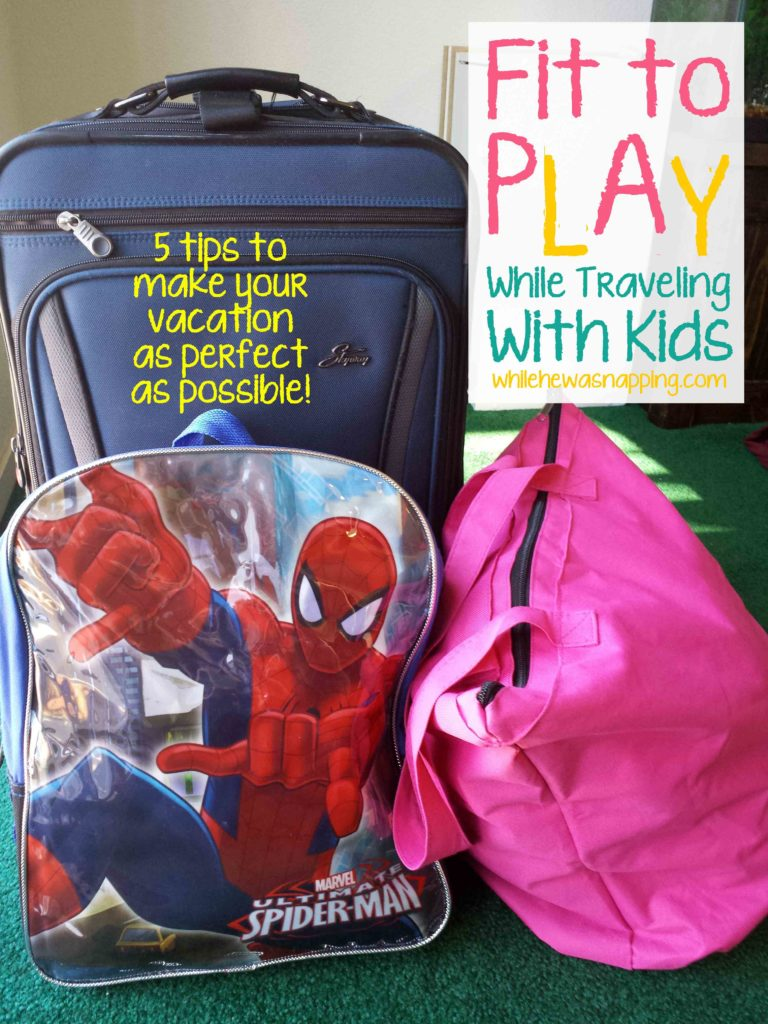 Playtex Sport 5 Fit to Play WhileTraveling with Kids tips