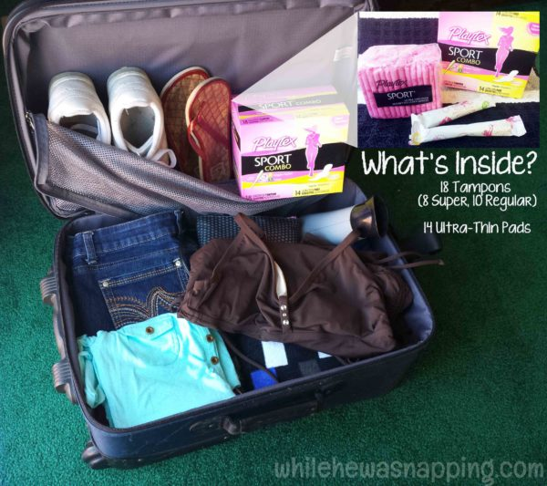 Playtex Sport Fit to Play WhileTraveling with Kids Contents