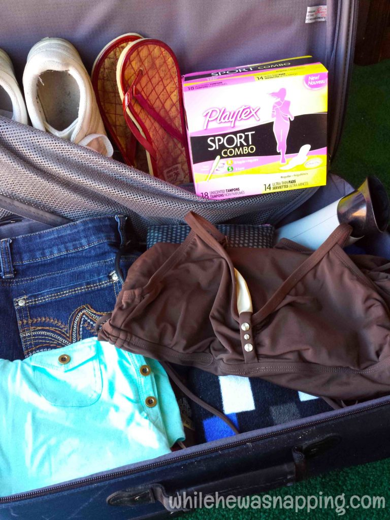Playtex Sport Fit to Play WhileTraveling with Kids Suitcase