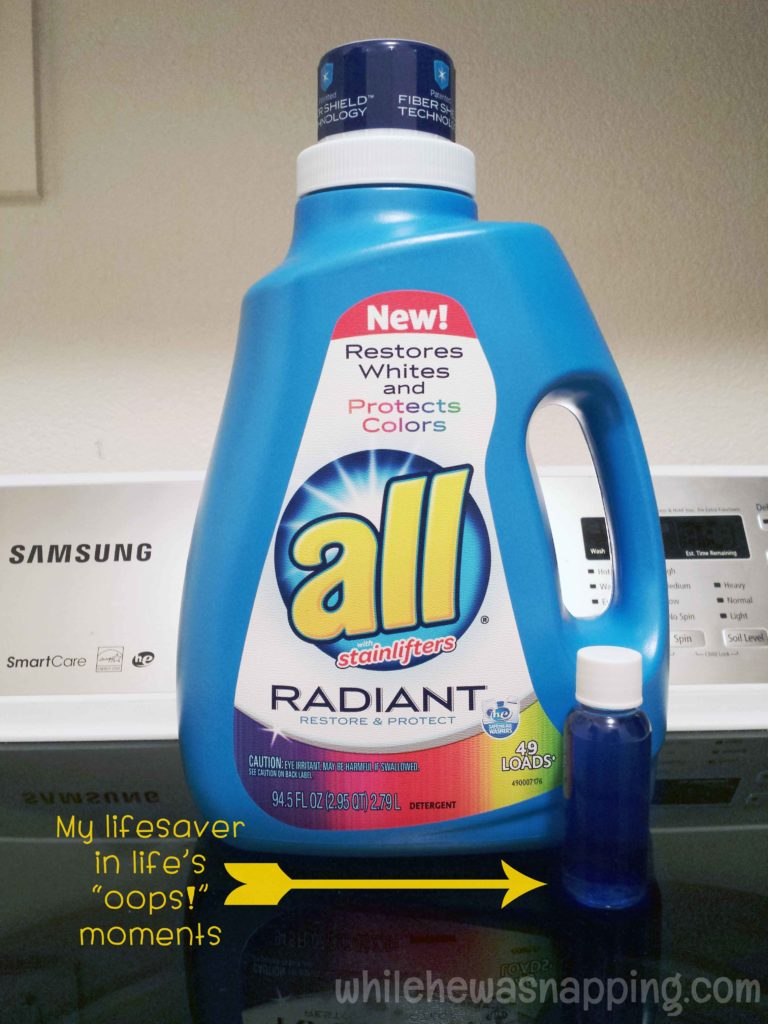 3 Ways You Can Use All Radiant Laundry Detergent While
