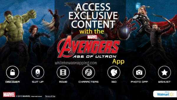 MARVEL's The Avenger's Age of Ultron Exclusive Content Super Heroes Assemble App