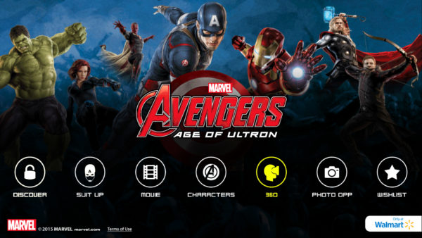 MARVEL's The Avenger's Age of Ultron Super Heroes Assemble App 360