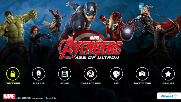 MARVEL's The Avenger's Age of Ultron Super Heroes Assemble App Discover