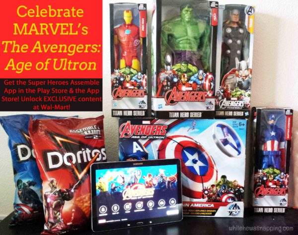 MARVEL's The Avenger's Age of Ultron Super Heroes Assemble App