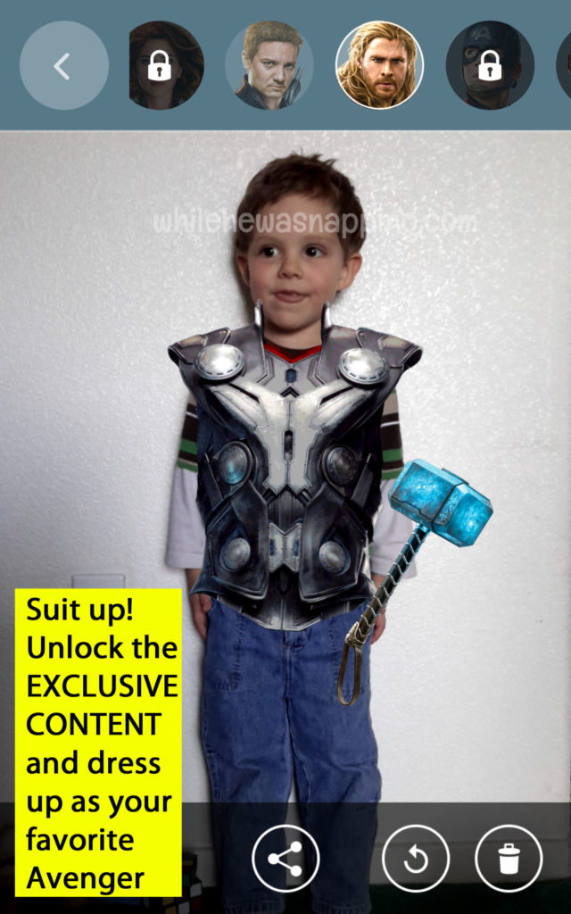 MARVEL's The Avenger's Age of Ultron Super Heroes Assemble Suit Up Thor