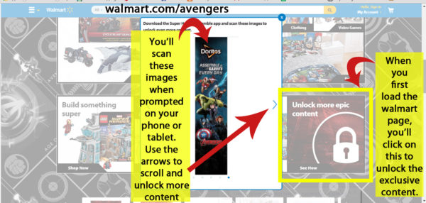 MARVEL's The Avenger's Age of Ultron Super Heroes Assemble Unlock exclusive content