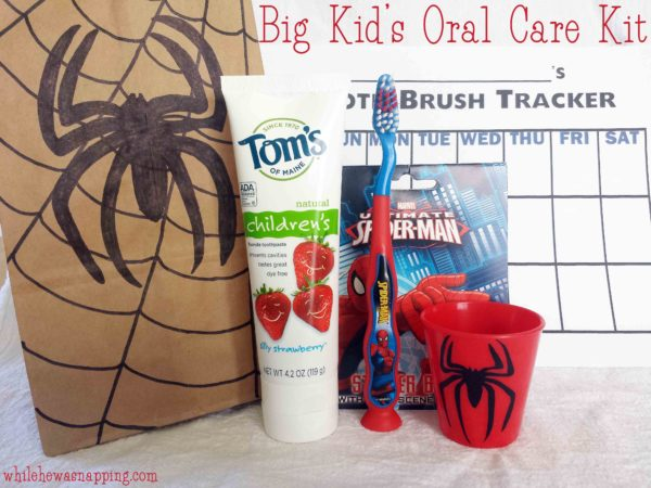Natural Goodness Toothpaste Without All the Chemicals Big Kid Oral Care Kit