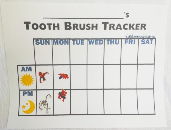 Natural Goodness Toothpaste Without All the Chemicals Teeth brushing chart