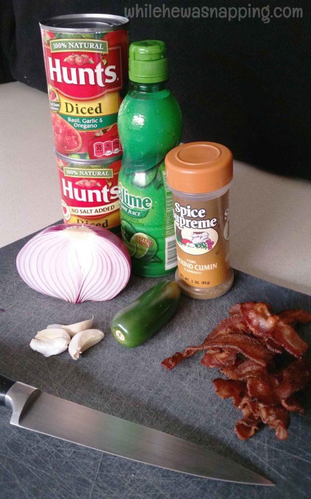 Hunts Fresh Twists Salsa Ingredients