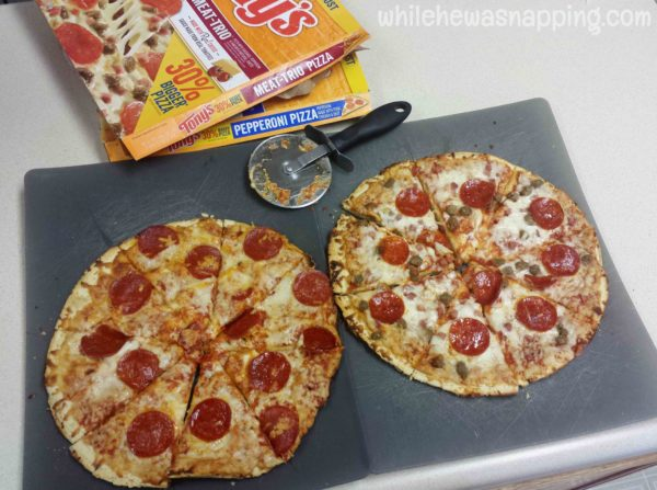 Tony's Pizza Family Movie Night Easy Dinner Ideas