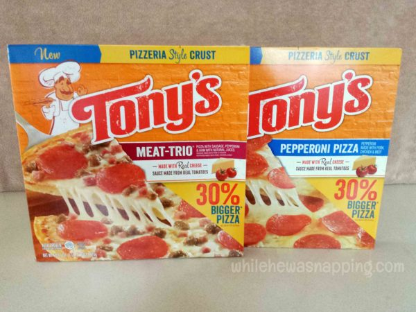 Tony's Pizza Family Movie Night Hero