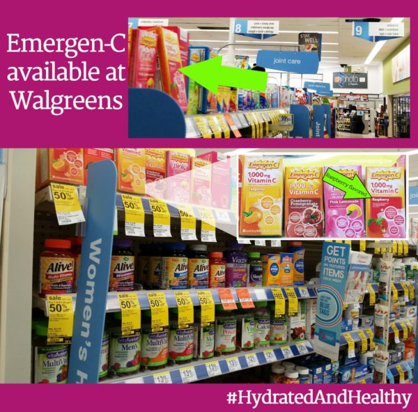 Emergen-C Hydrated and Healthy In-Store