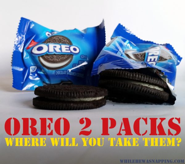 OREO two pack cookies