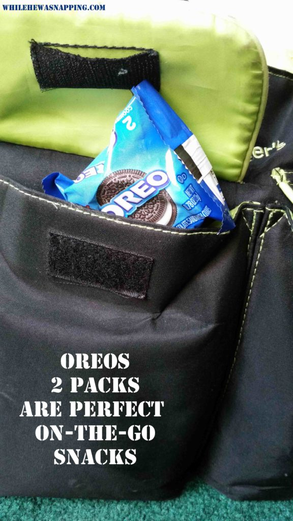 OREO two pack on the go snacks