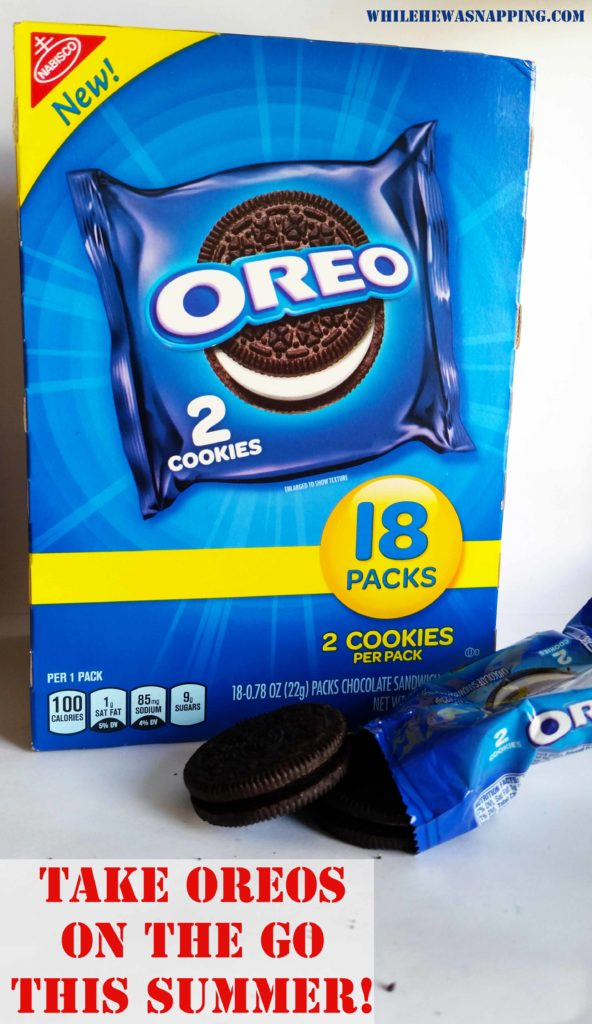 OREO two pack on the go