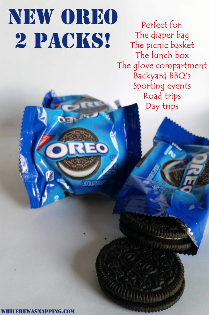 OREO two pack snack size