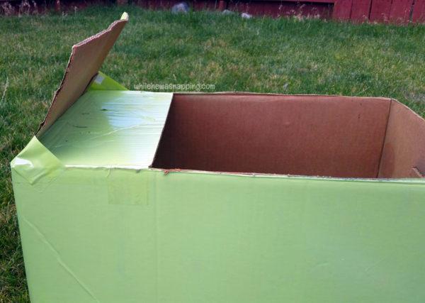 Tyson Any'Tizers DIY Drive-In Cardboard Box Prep