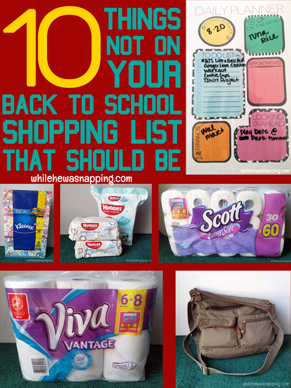 BTSLikeABoss 10 things not on your back to school shopping list that should be