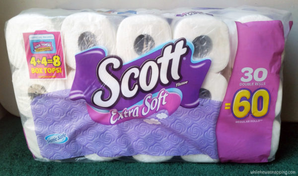 BTSLikeABoss Scott Bath Tissue