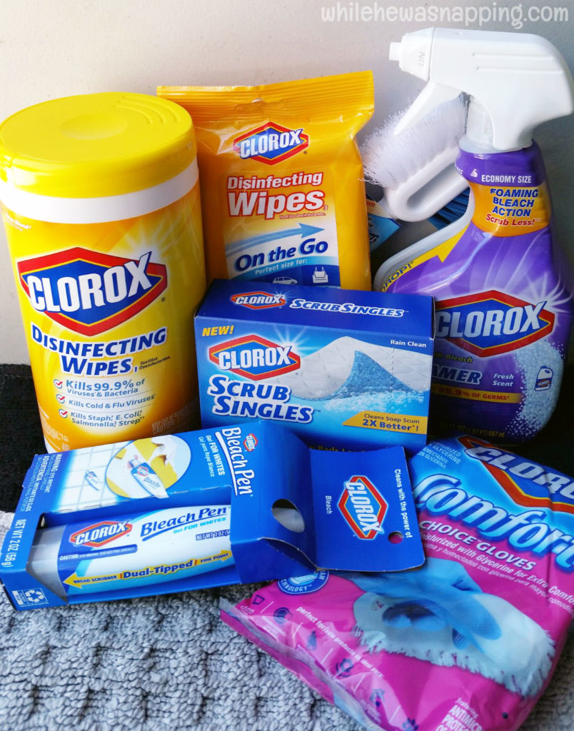 Back To Clean Clorox Grab&Go Clean Up Kit Contents