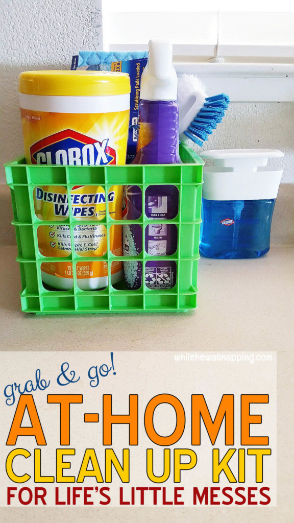 Back To Clean Clorox Grab&Go Clean Up Kit