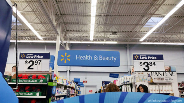 Back To College With Schick at Walmart Health and Beauty