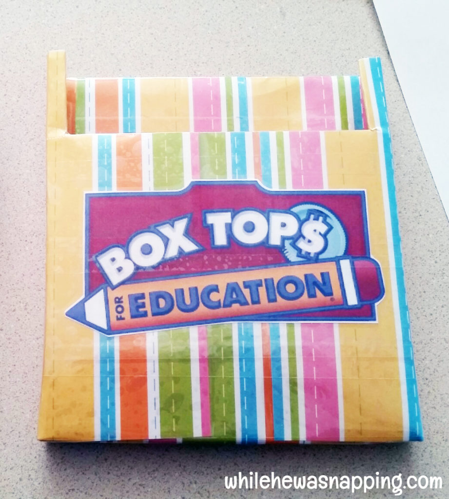 Box Tops for Education General Mills Bonus Box Tops Collection Box DIY Label