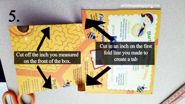 Box Tops for Education General Mills Bonus Box Tops Collection Box DIY Step 5