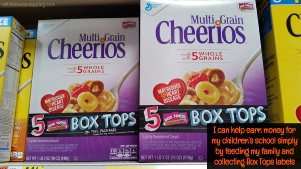 Box Tops for Education General Mills & Walmart BTFE Healthy