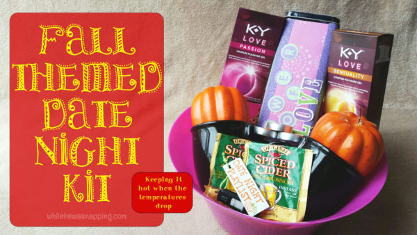 K-Y® LOVE Fall Date Night Kit Hero