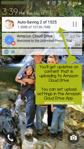 Amazon Cloud Drive Open Mobile App Updates