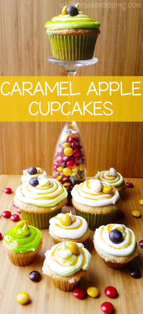 Bake In The Fun Caramel Apple Cupcakes Hero Vertical 2