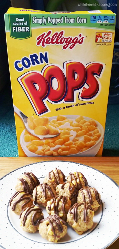 Kelloggs Back to School Corn Pops Breakfast Bites Cereal Snacks