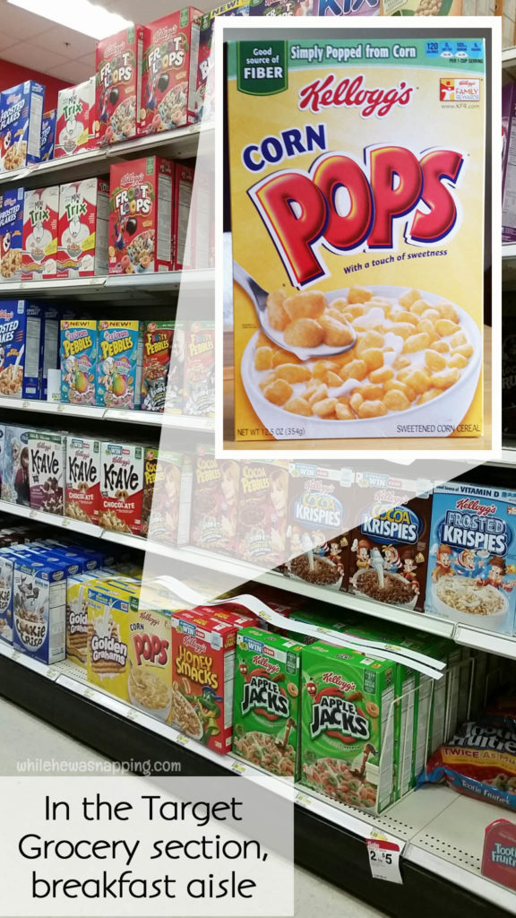 Kelloggs Back to School Corn Pops Breakfast Bites In Store