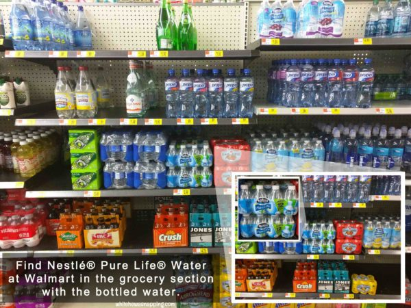 Staying Hydrated Nestle Pure Life Water Tracking System Instore