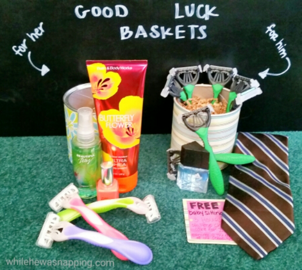 Back to School Schick Gift Baskets