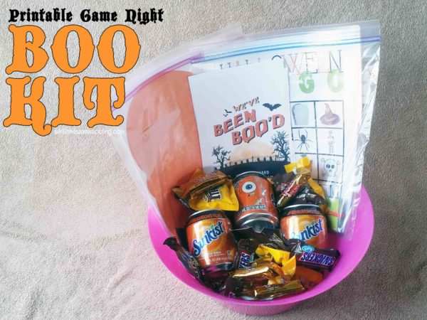 BOO it Forward Game Night BOO Kit