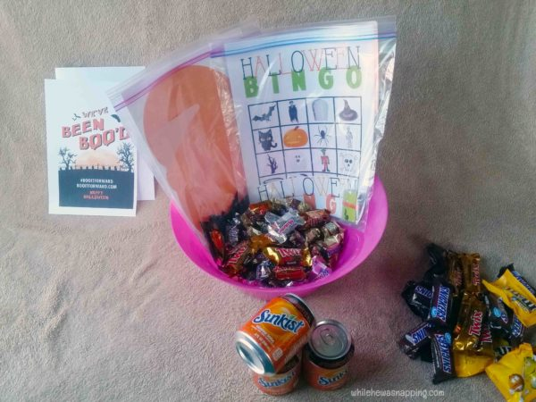 BOO it Forward Printable Game Night BOO Kit Halloween Bingo Game