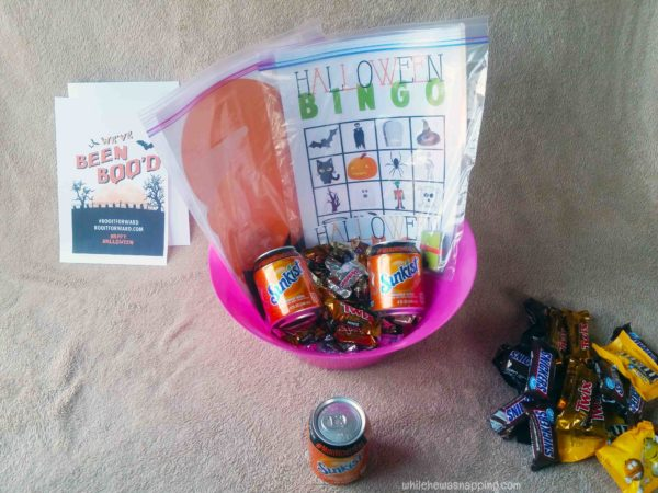 BOO it Forward Printable Game Night BOO Kit Soda Cans