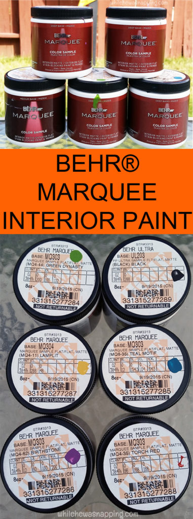 Behr Marquee Halloween Sign Interior Paint Products