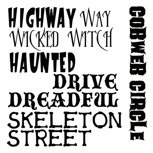 Behr Marquee Road Signs Text