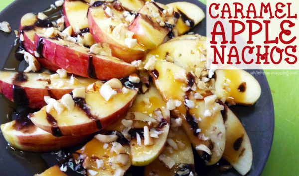 Caramel Apple Nachos CloseUp