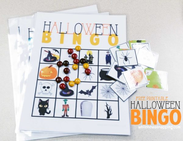 Halloween Bingo Printable Free Game