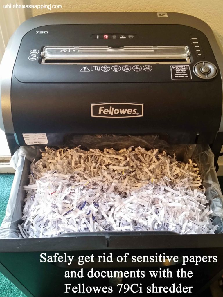 Keeping the Paper Clutter Down with Fellowes 79Ci Shredder