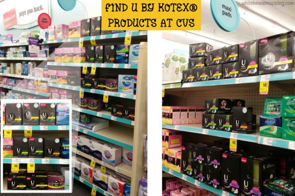 Witch Away Kit with Kotex InStore